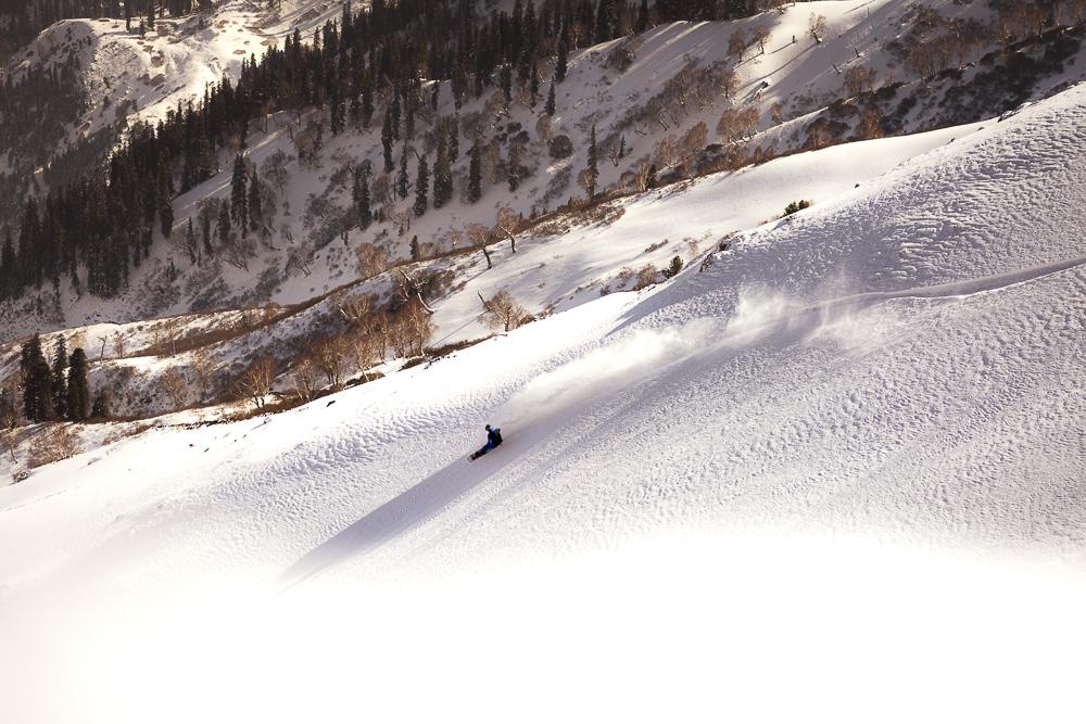 Freeriding Snowboard Arlberg