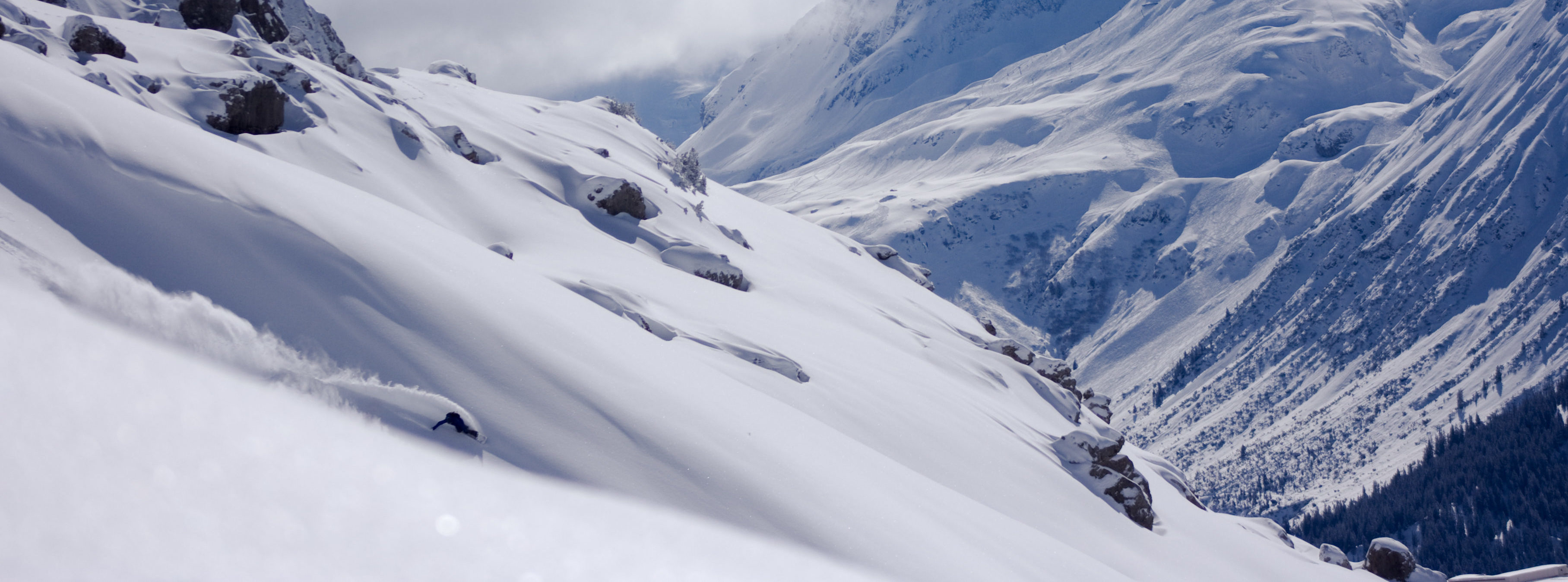 Freeriding am Arlberg