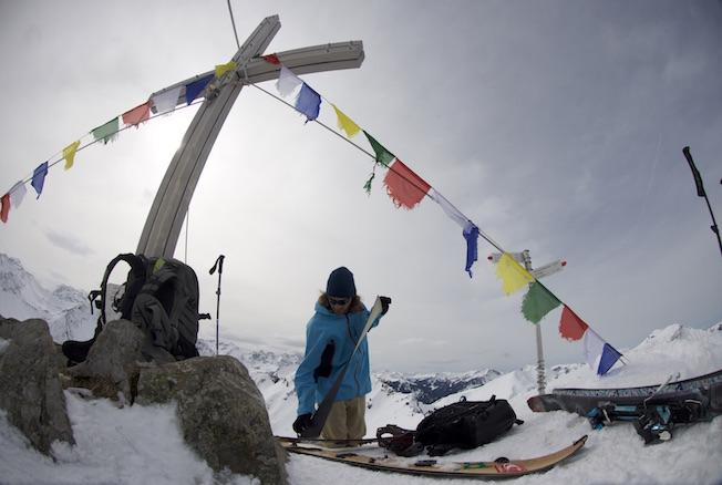 Splitboard guide am Arlberg