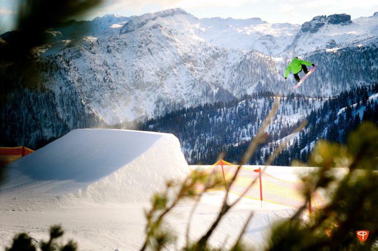 freestyle snowboarding St. anton
