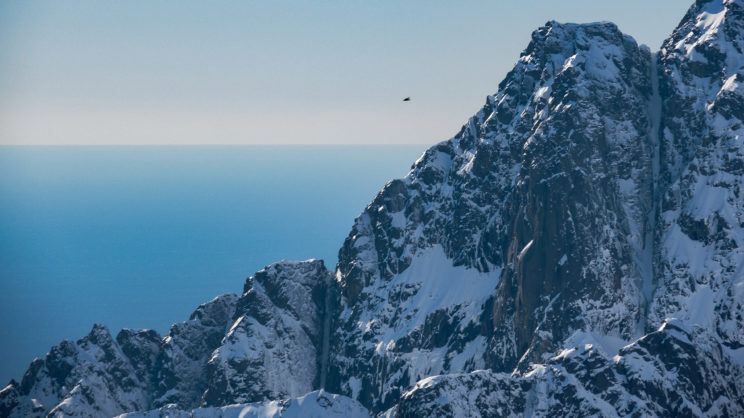 Snowboarding Lofoten