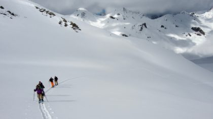 Splitboarding am Arlberg