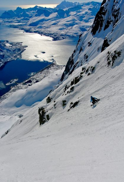 snowboard Lofoten