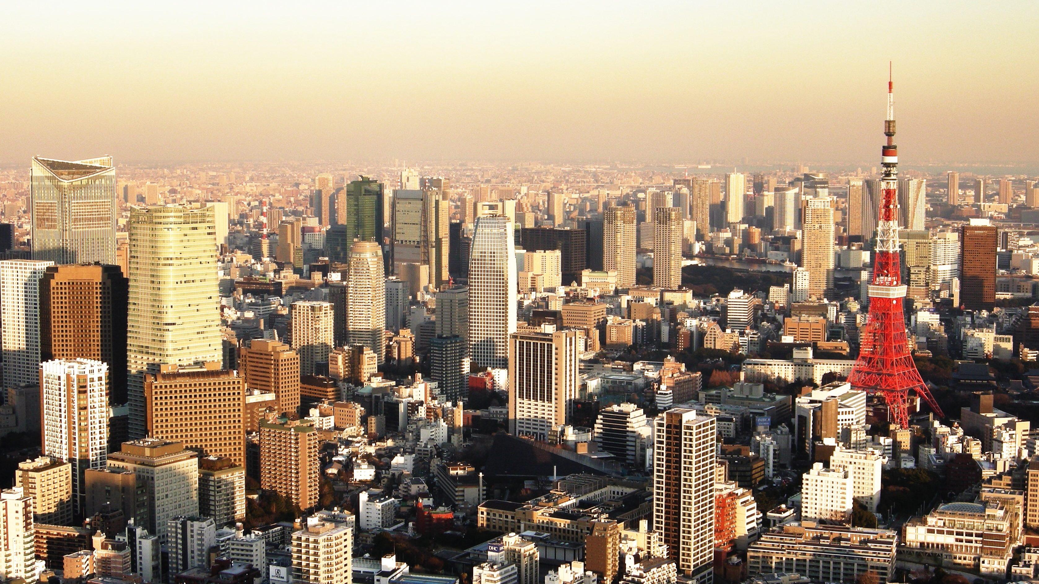 Tokyo Sunset Japan