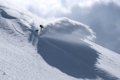 powder spray Arlberg